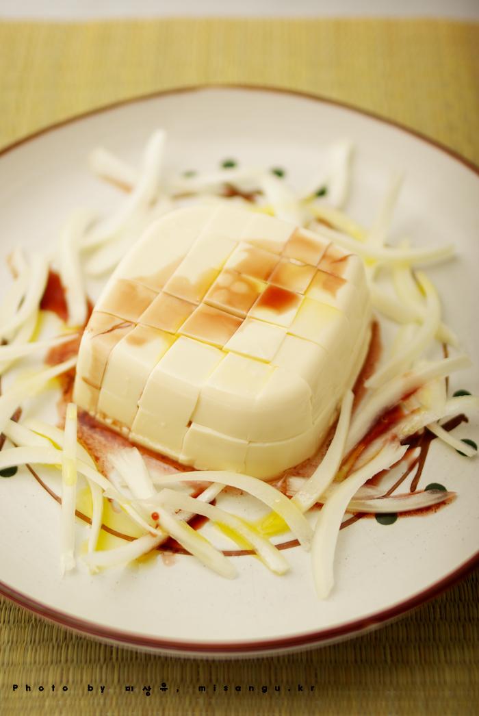[두부샐러드소스만들기]초간단 두부 샐러드 만드는법 by 미상유