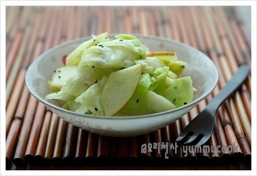 양배추 사과초무침~~~ 사각사각 새콤달콤 ♬