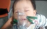 우리 아이가 폐렴에 걸렸어요